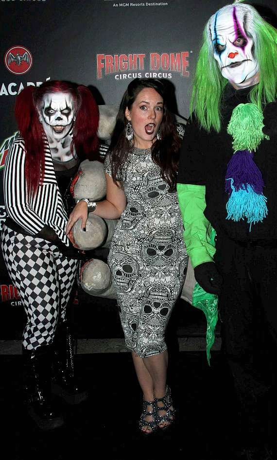 Horror Actress Sarah Nicklin on Fright Dome's Black Carpet