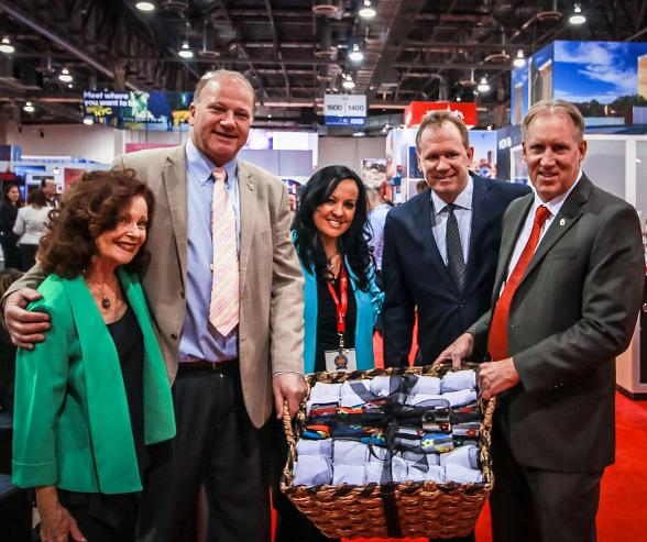 Wynn Las Vegas Collects 5,000 Pairs of Socks for Local Charity During IMEX 2016