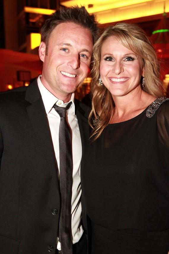 Chris Harrison and wife Gwen at Surrender Nightclub