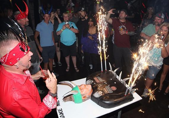 Horny Mike Celebrates his Birthday at Count's Vamp'd Bar & Grill in Las Vegas
