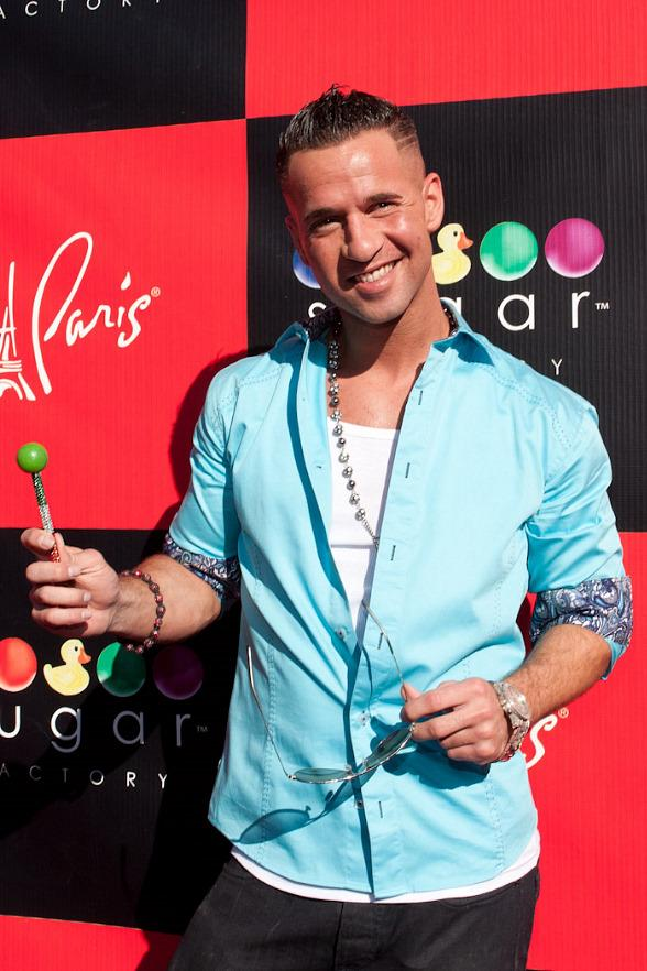 """Mike """"The Situation"""" Sorrentino on Red Carpet at Sugar Factory"""