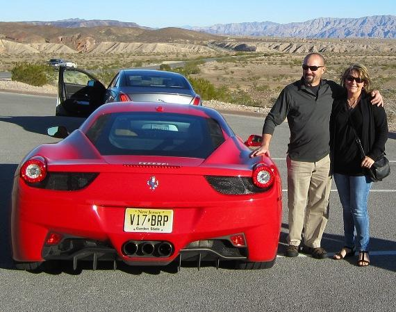 Dave Turin with the Ferrari 458 Italia