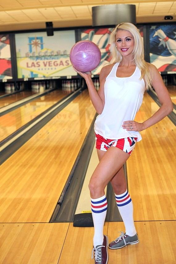 Chloe Louise Crawford at Nevada SPCA Celebrity Bowling Tournament