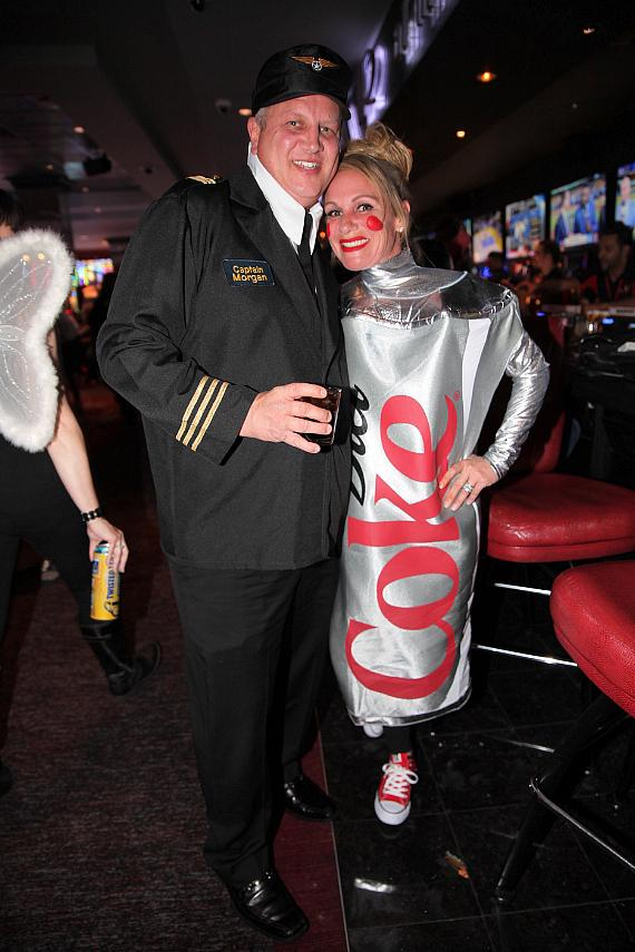The D Casino owner, Derek Stevens and his wife Nicole