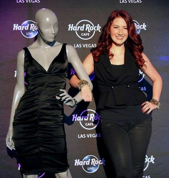 Country Artist Katie Armiger Donates Dress to Hard Rock Live in Las Vegas from Appearance at Grand Ole Opry