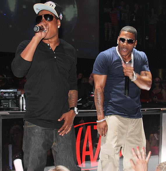 Nelly Performs Live Show at HAZE Nightclub at ARIA