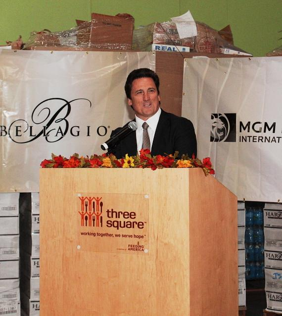 MGM Resorts Employees Donate Nearly One Million Pounds of Canned to Three Square Food Bank