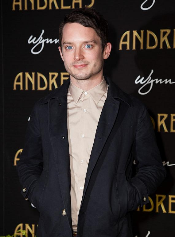 Actor Elijah Wood of Lord of the Rings