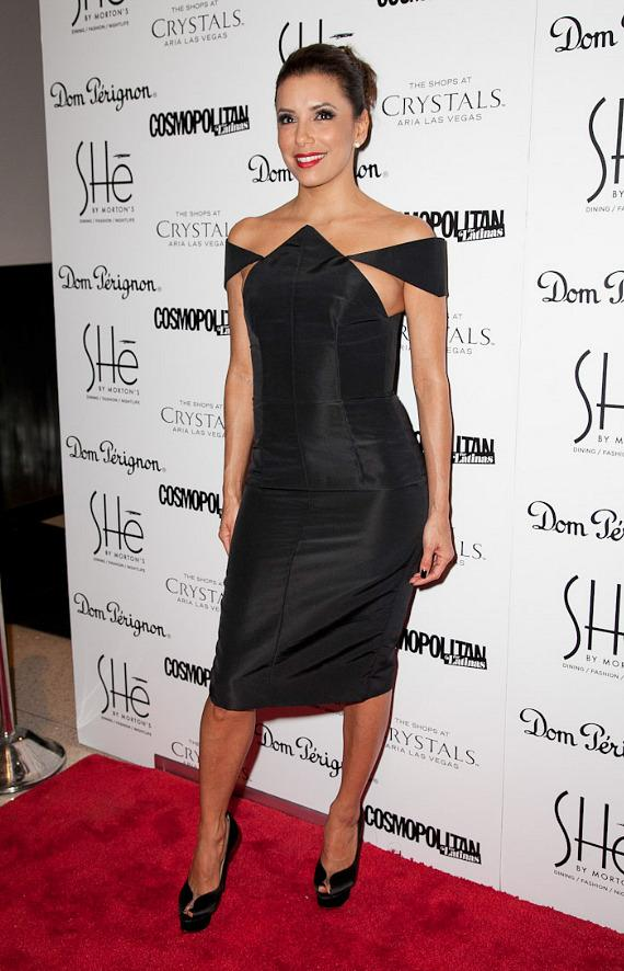 Eva Longoria at Grand Opening of SHe by Morton's  in Las Vegas