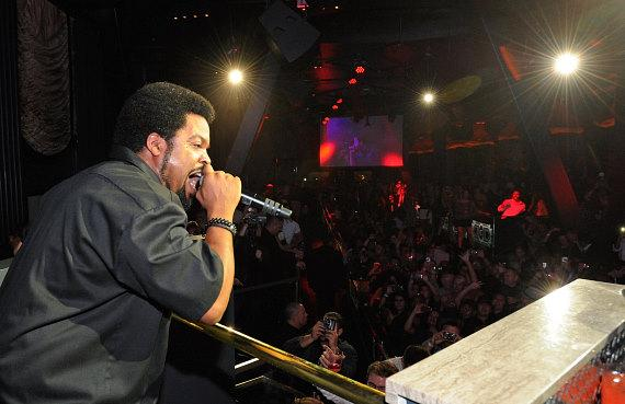Ice Cube Performs at Chateau Nightclub & Gardens in Las Vegas