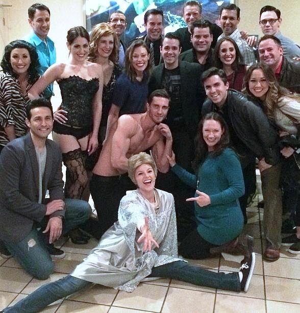 """Jersey Boys Cast Attends """"50 Shades! The Parody"""" at Bally's Las Vegas"""