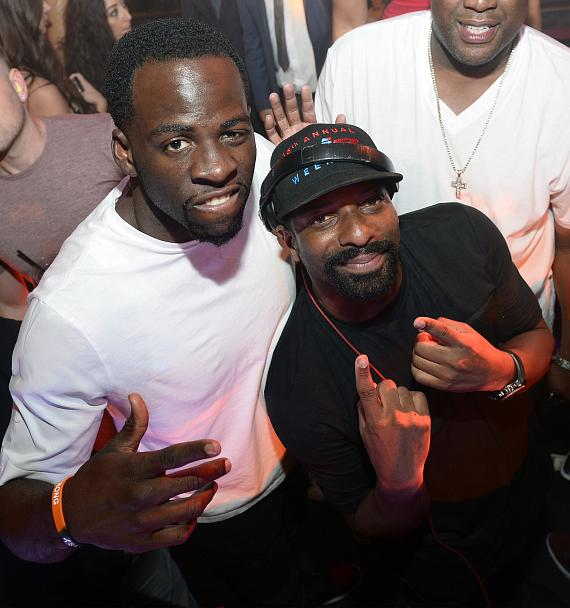 Golden State Warriors Celebrate NBA Championship Title at JEWEL Nightclub