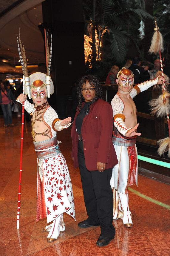 KÀ by Cirque du Soleil greets guests in lobby
