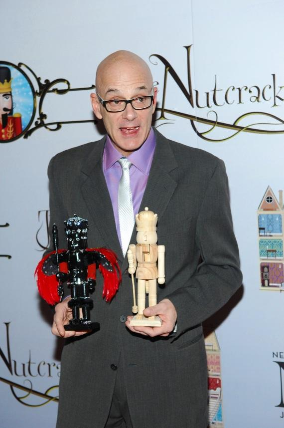 James Canfield at the premiere of Nevada Ballet Theater's The Nutcracker