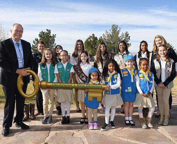Charles and Phyllis M. Frias Charitable Trust Donates 70-Acre Ranch Valued at Nearly $9 Million to Girl Scouts of Southern Nevada
