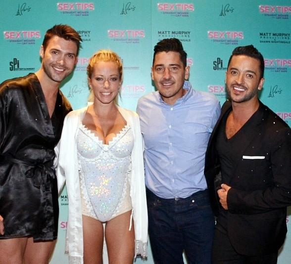 New Kids on the Block's Jonathan Knight Attends Kendra Wilkinson and Jai Rodriguez's Las Vegas Show