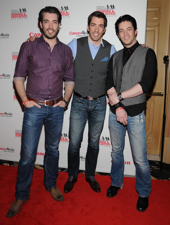 Jonathan Scott, Drew Scott and J.D. Scott