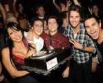 Kendall Schmidt of Big Time Rush celebrates 21st birthday at TAO