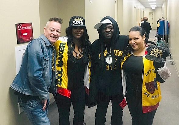 "Flavor Flav Attends Salt-N-Pepa's ""I Love the '90s – The Vegas Show"" at Paris Las Vegas"