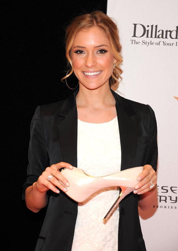 Kristin Cavallari Promotes Chinese Laundry Shoes in Dillards at Fashion Show Mall