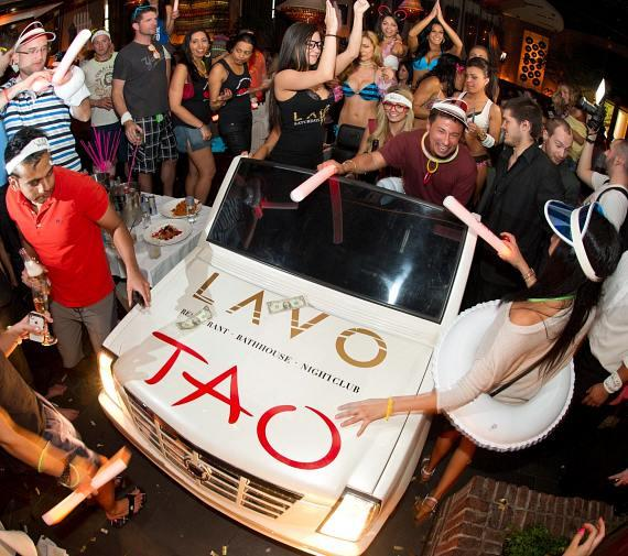Angel Porrino hosts LAVO Champagne Brunch
