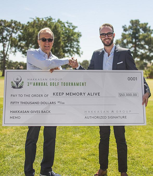 Hakkasan Group Hosts First Ever Charity Golf Tournament Benefiting Keep Memory Alive