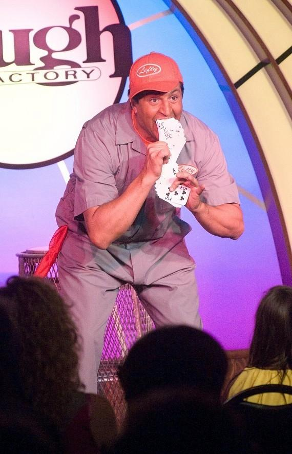 LEFTY performs in MURRAY 'Celebrity Magician' at The Tropicana Las Vegas