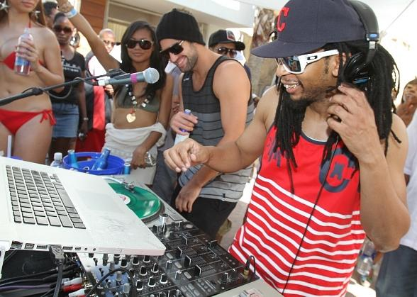 Lil Jon and Brody Jenner at REHAB
