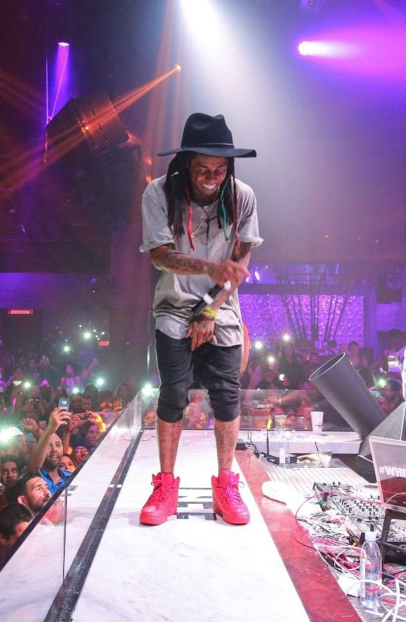 Lil Wayne Celebrates Fourth of July at SLS Las Vegas with Debut of Free Weezy Album at LiFE