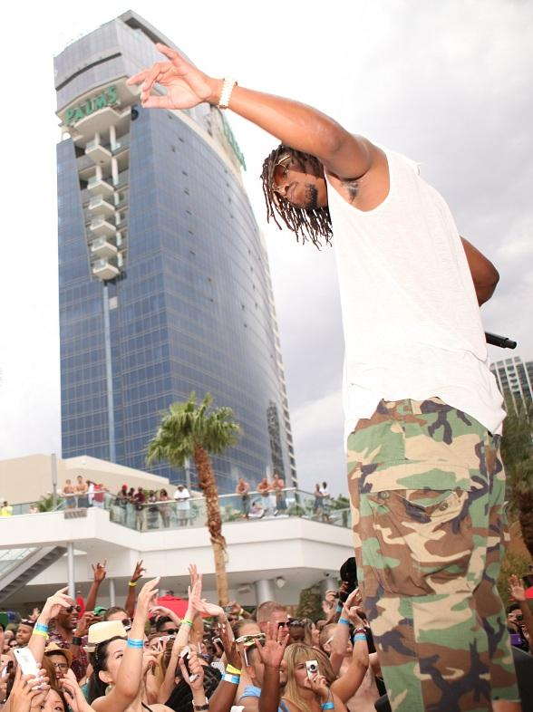 """Lupe Fiasco Performs at """"Ditch Fridays"""" at Palms Pool in Las Vegas"""