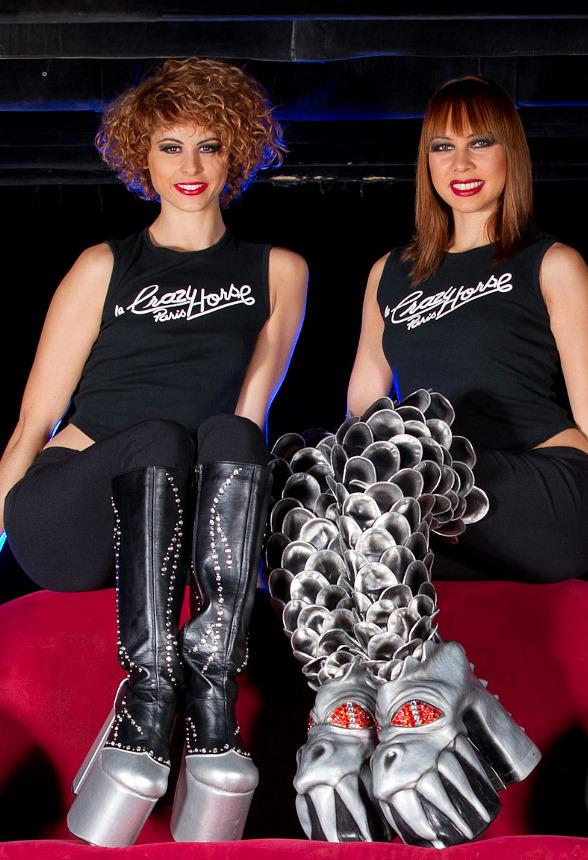 """""""These Boots Are Made For Rockin!"""" Featuring The Beautiful Dancers from MGM Grand's Crazy Horse Paris"""