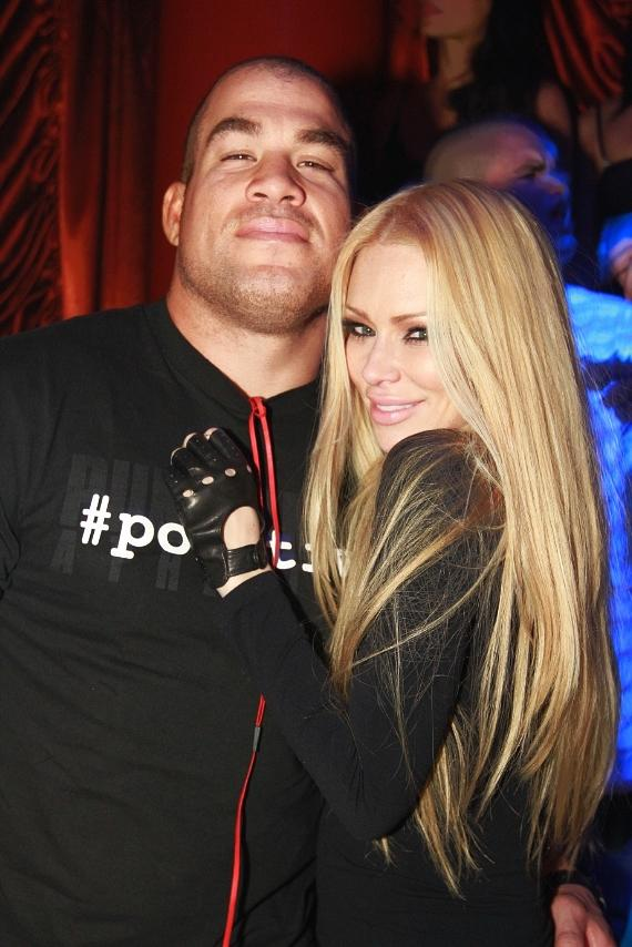 Jenna Jameson and Tito Ortiz at Surrender Nightclub