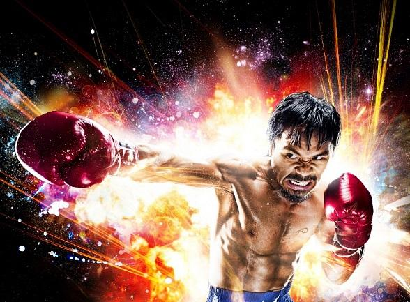 Manny Pacquiao's Knock-Out Website Launch Party at Gallery Nightclub May 7