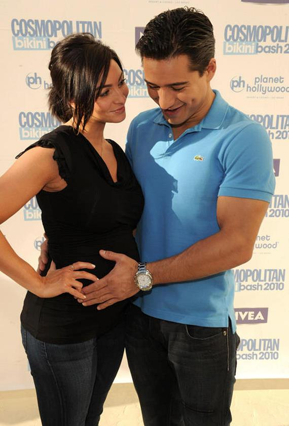 Mario Lopez and girlfriend Courtney Mazza