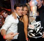 Mark Ballas and Cheryl Burke at TAO