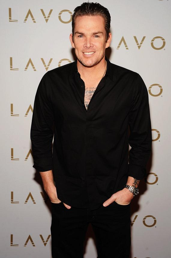 Mark McGrath on LAVO red carpet