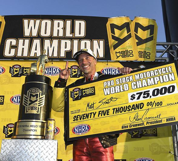 World Champion Smith Excited to Make Four-Wide History at Las Vegas Motor Speedway