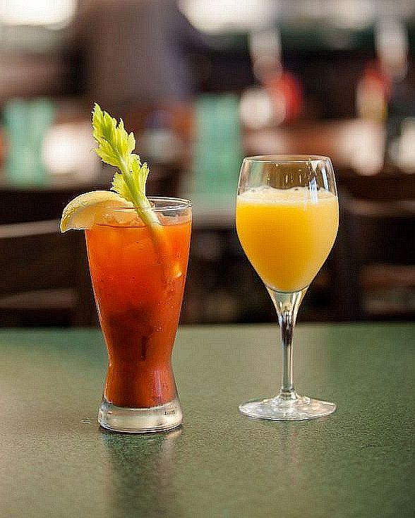 $2.99 Mimosas and Bloody Marys for New Year's Eve and New Year's Day