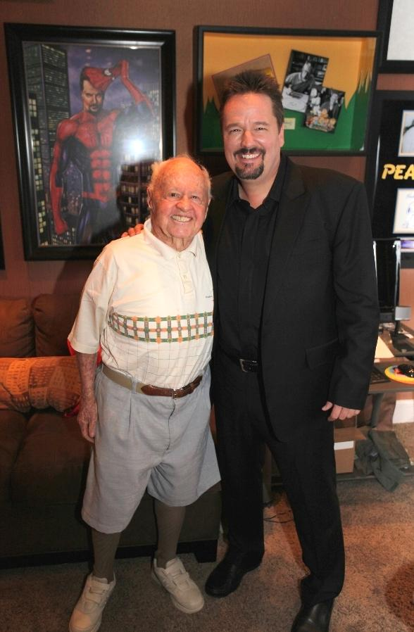 Mickey Rooney with Terry Fator