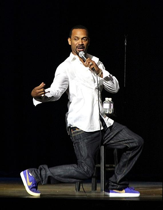 Mike Epps performs at the Pearl at the Palms