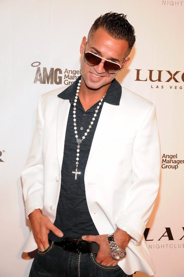 "Mike ""The Situation"" Sorrentino of Jersey Shore hosts at LAX Nightclub"