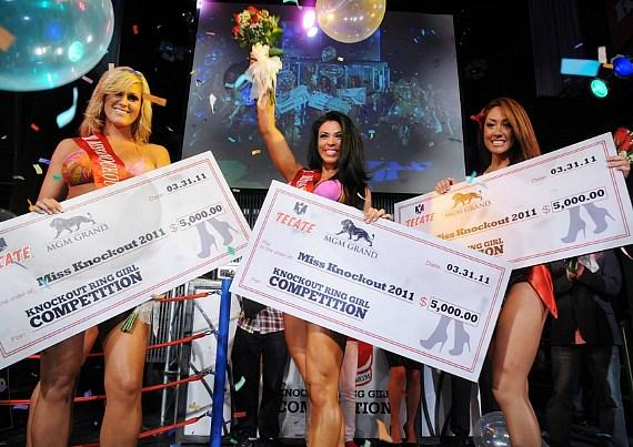 Miss Knockout Winners at Studio 54 Las Vegas