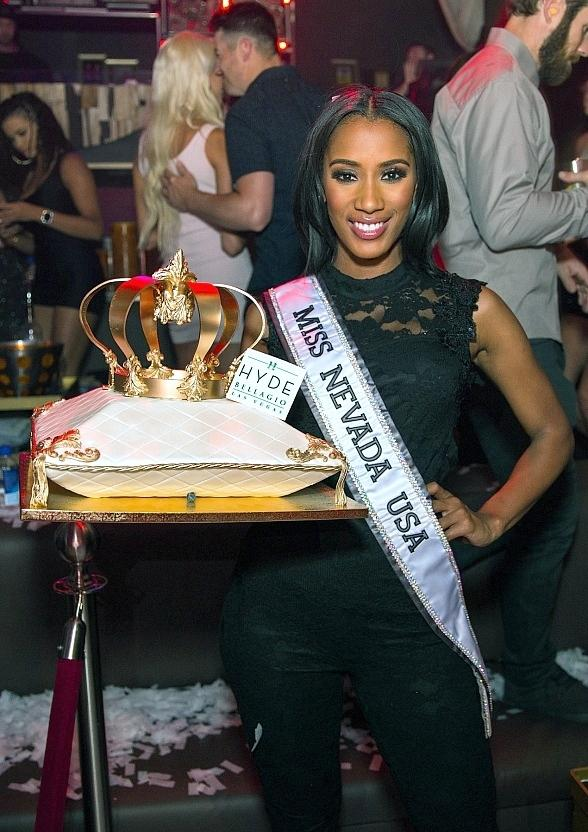 Miss Nevada USA Tianna Tuamoheloa Hosts Official Send Off Party at Hyde Bellagio in Las Vegas