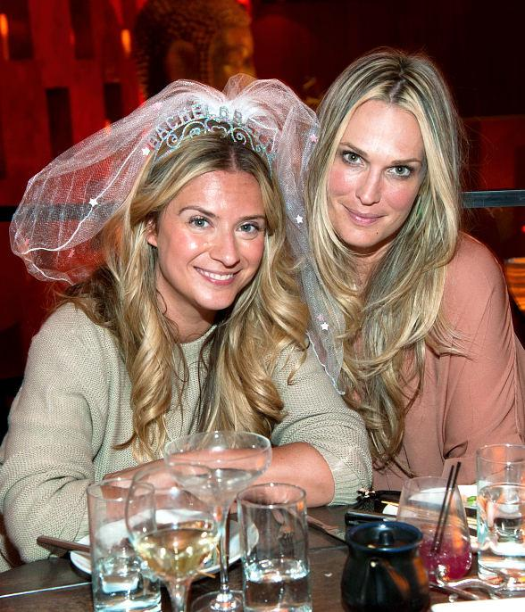 Molly Sims celebrates a friend's bachelorette party at TAO