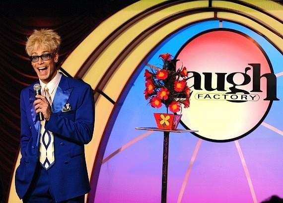 MURRAY 'Celebrity Magician' returns to The Laugh Factory in Tropicana Las Vegas on March 31, 2014