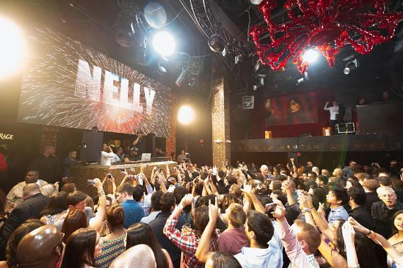 Nelly Hosts Post-Fight Party at TAO in Las Vegas