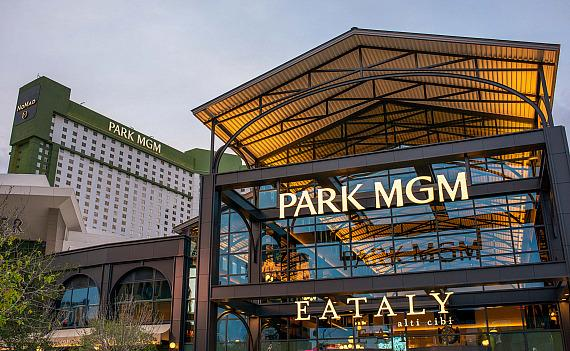 Park MGM Exterior with Vegas' First Eataly