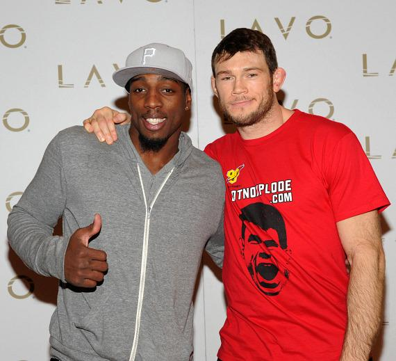 Forrest Griffin at LAVO