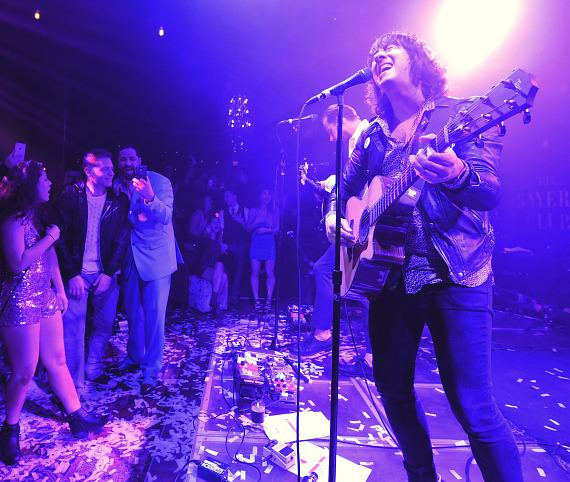 Plain White T's ring in the New Year at The Sayers Club in Las Vegas