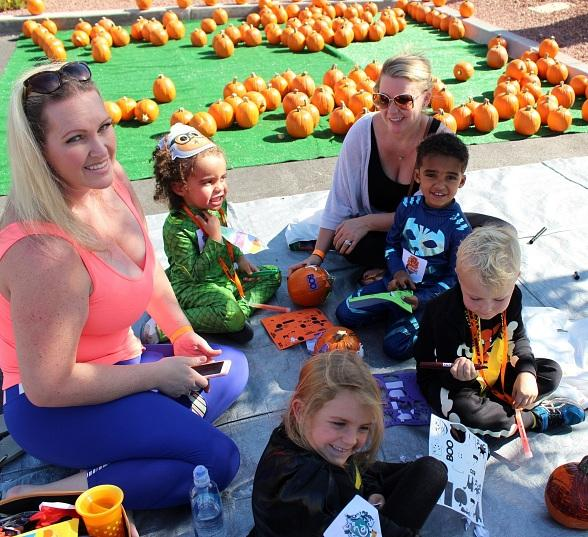 Witches and Wizards of All Ages Enjoy Spooktacular at Life Time Athletic Green Valley